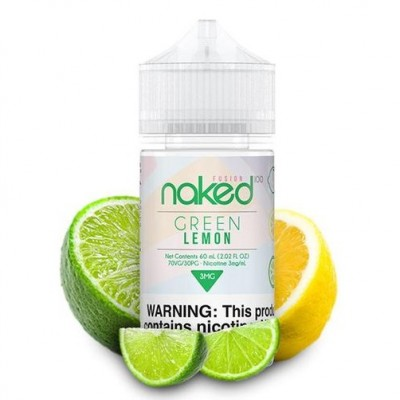 Naked 100 eLiquid - Green Lemon 60ML