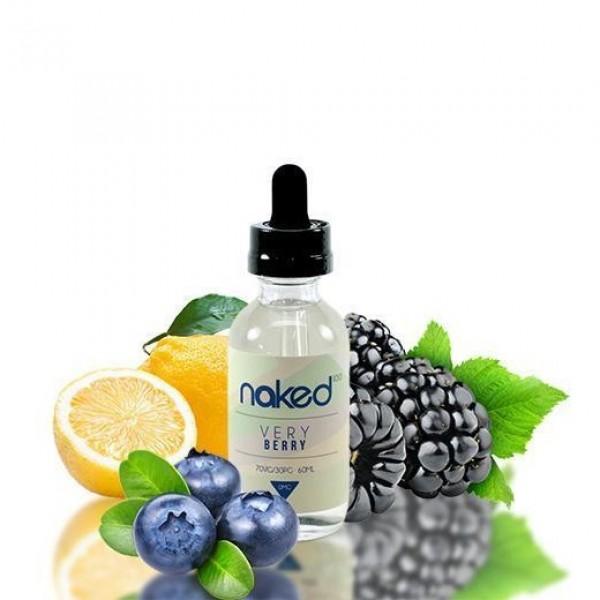 Very Berry 60ml E Liquid By Naked 100 - Plenty of Vape