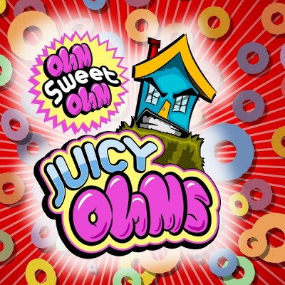 "Juicy Ohms ""OhmSweetOhm E juice"" - E-Liquid 15 ml"