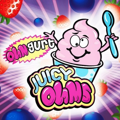 "Juicy Ohms ""OhmGurt E juice"" - E-Liquid 15 ml"