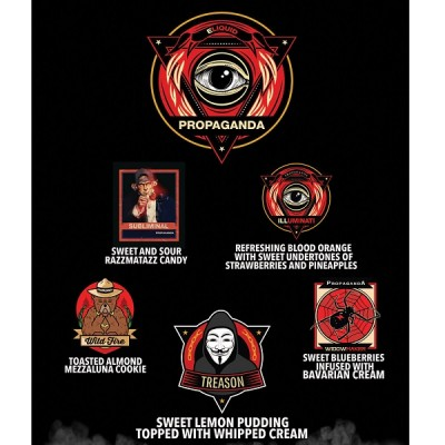 Propaganda E Liquid - Illuminati E Juice 15 ml