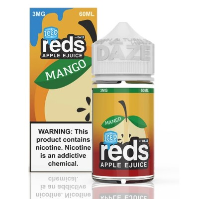 Reds Apple Mango Iced eJuice - 7 DAZE