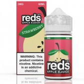 Reds Apple Strawberry eJuice - 7 DAZE