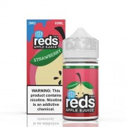 Reds Apple Strawberry Iced eJuice - 7 DAZE