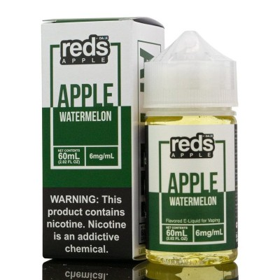 Reds Apple Watermelon eJuice - 7 DAZE