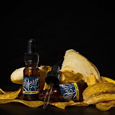 Ruthless  E Juice - BANANA CHIPS E-Liquid 15ml