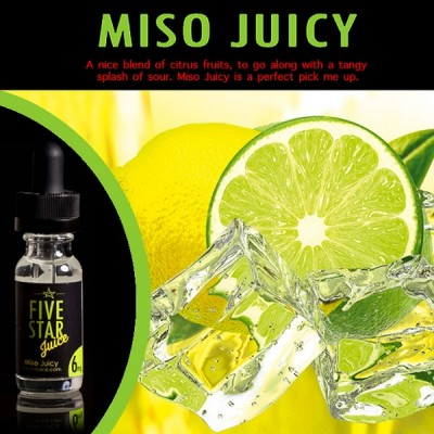 Five Star Juice - Miso Juicy 30ml