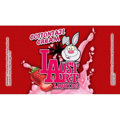 Lost Art E Juice - Cottontail Cream - E Liquid 120ml
